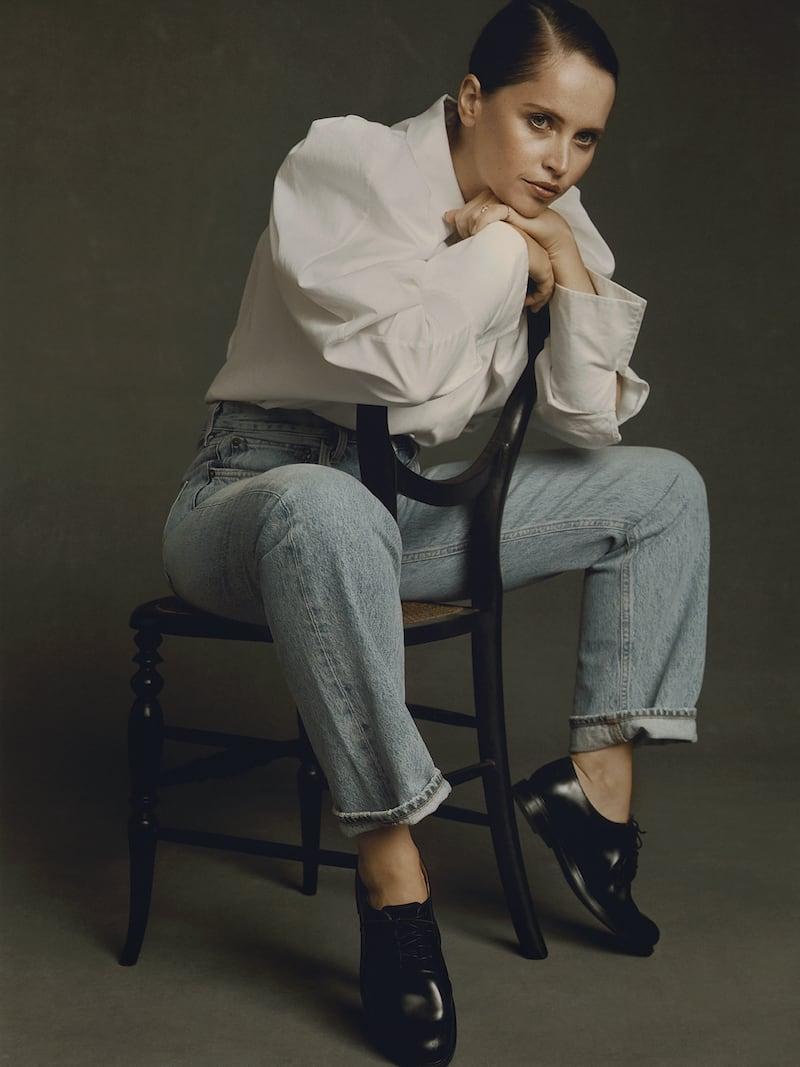 Khaite Brianne Oversized Cotton-Poplin Shirt