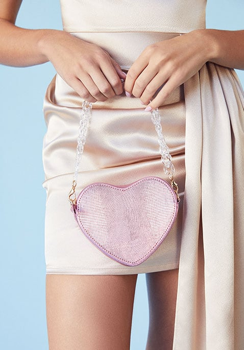 LPA Mini Ava Heart Bag