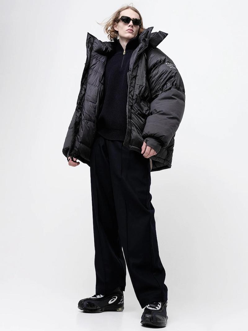 Maison Margiela 25cm Virgin Wool Pants W/Belt Bag