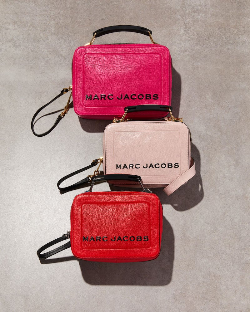 Marc Jacobs the Box 20 Leather Crossbody Bag