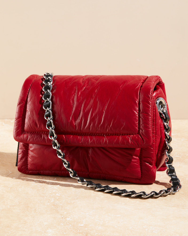 Marc Jacobs the Pillow Shiny Leather Shoulder Bag