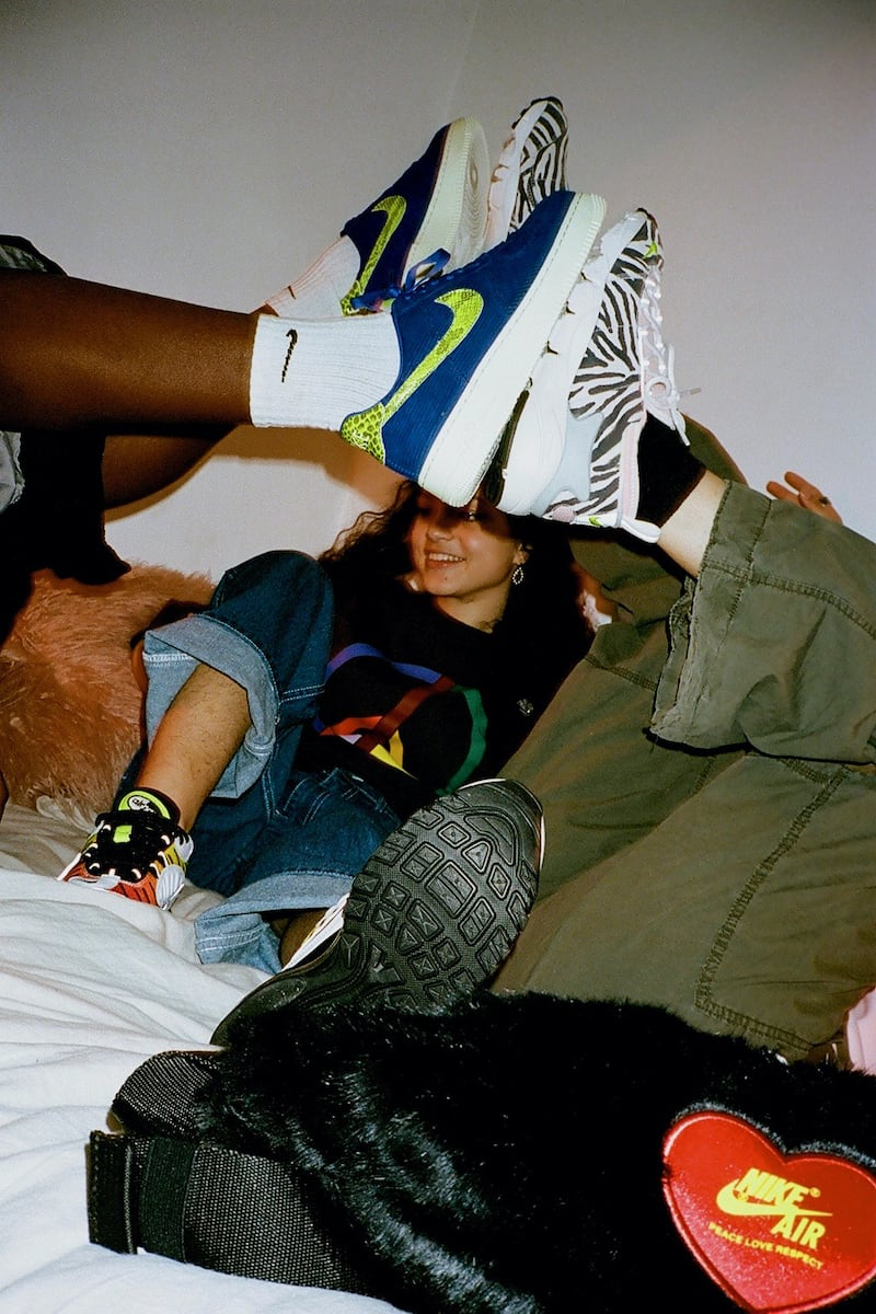 """Nike x Olivia Kim The """"No Cover"""" Collection"""