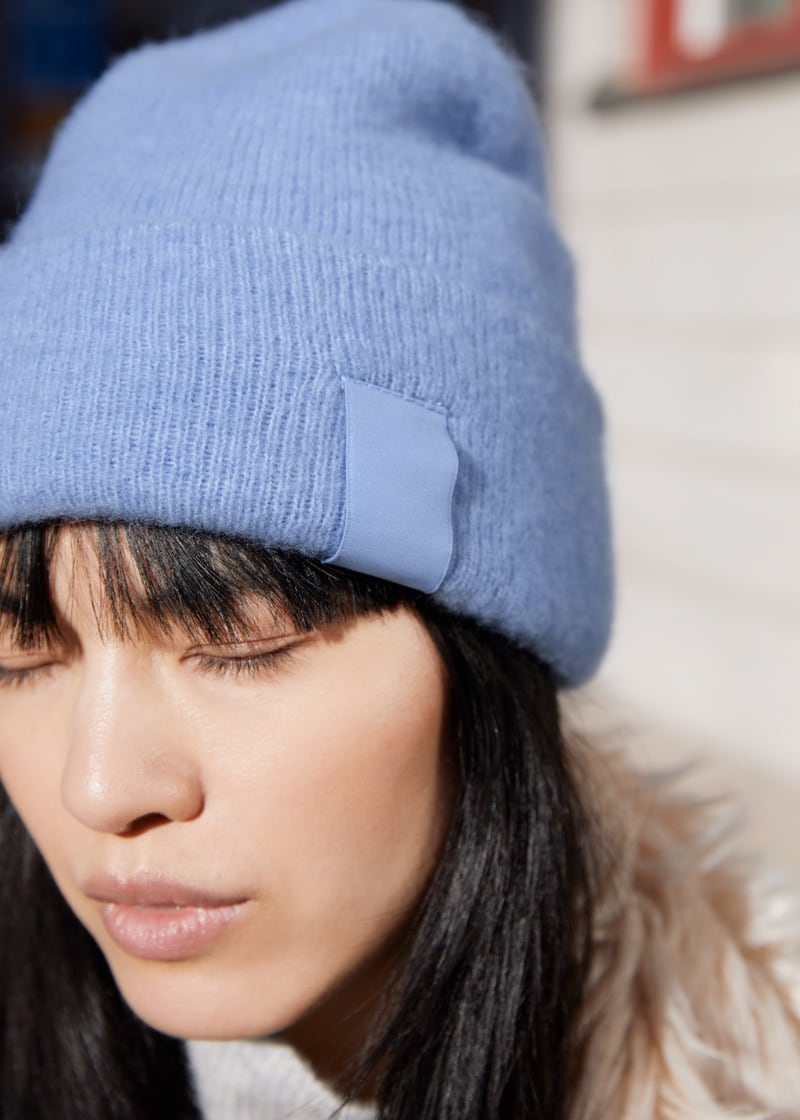 & Other Stories Fuzzy Wool Blend Beanie