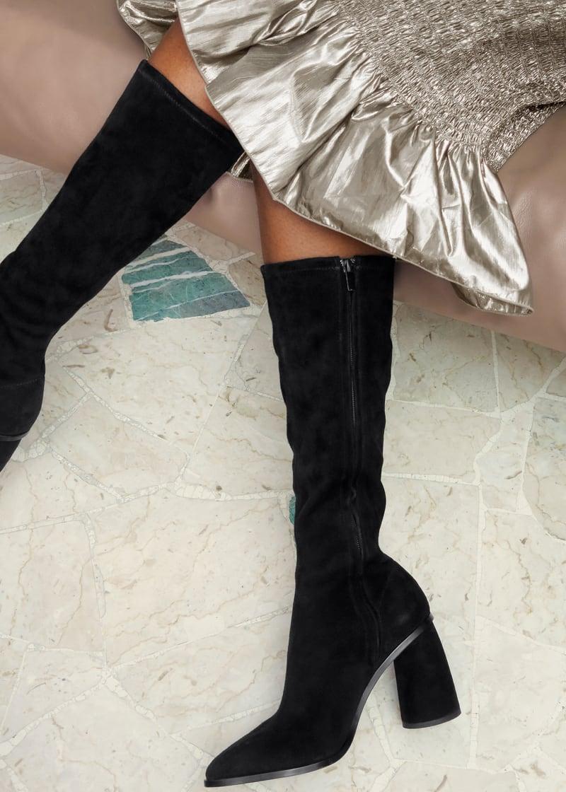 & Other Stories Smocked Metallic Midi Ruffle Skirt
