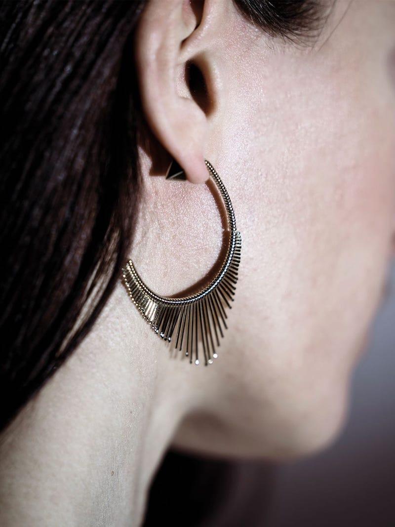 Peruffo Slide Pendant Mono Earring