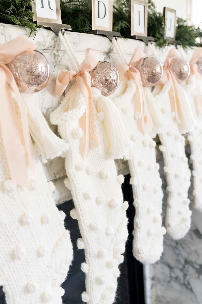 Rachel Parcell Bobble Knit Stocking