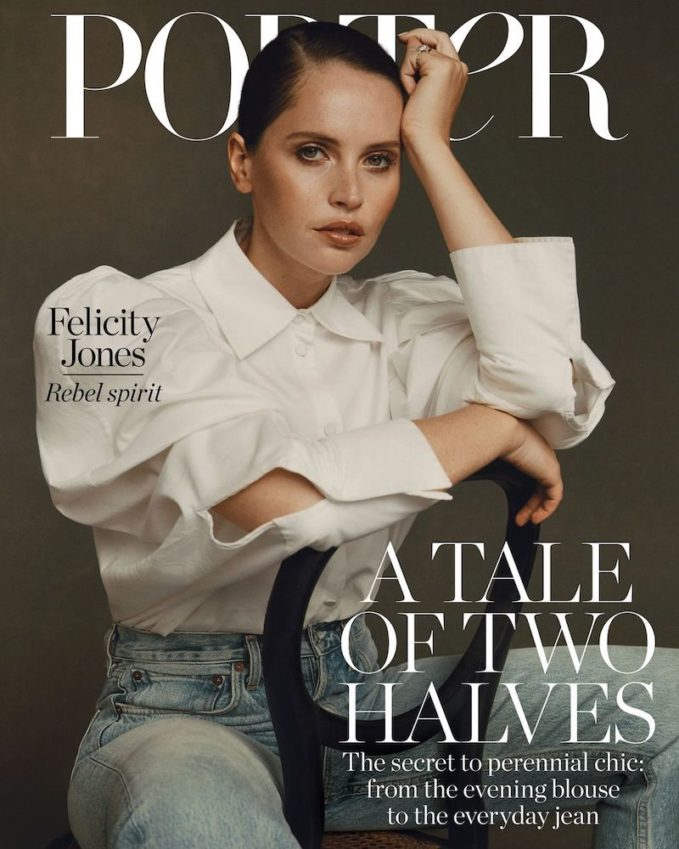 Rebel With a Cause: Felicity Jones for The EDIT