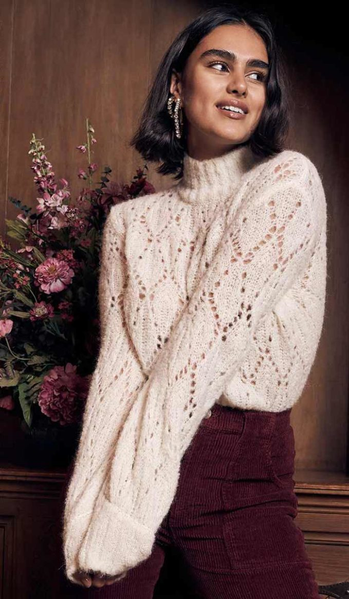 Reformation Lexi Sweater