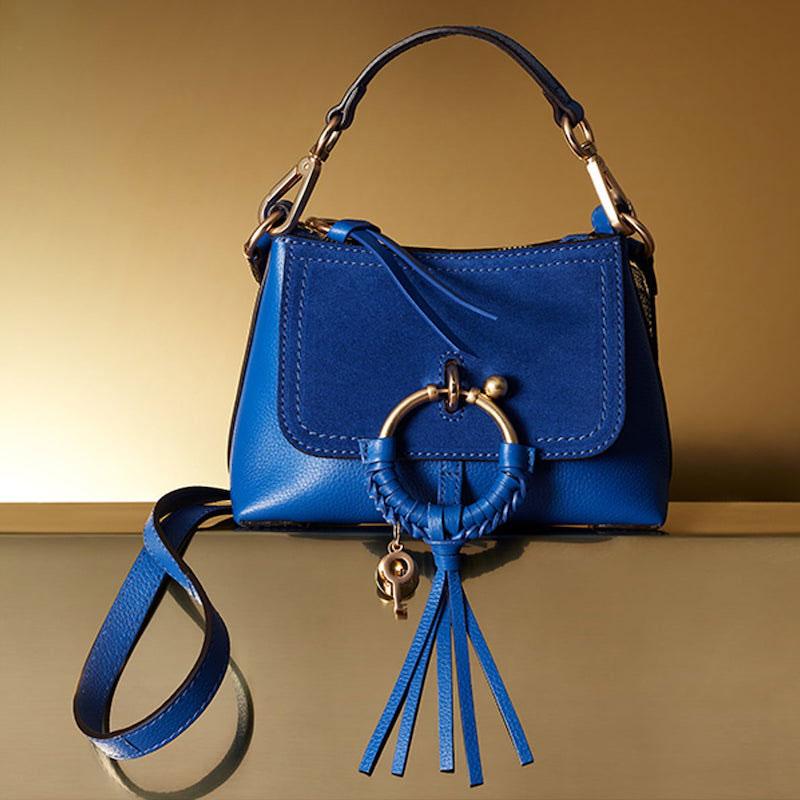 See by Chloé Mini Joan Leather Crossbody Bag