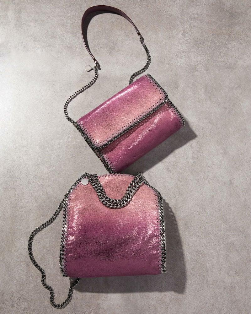 Stella McCartney Mini Falabella Metallic Tote Bag
