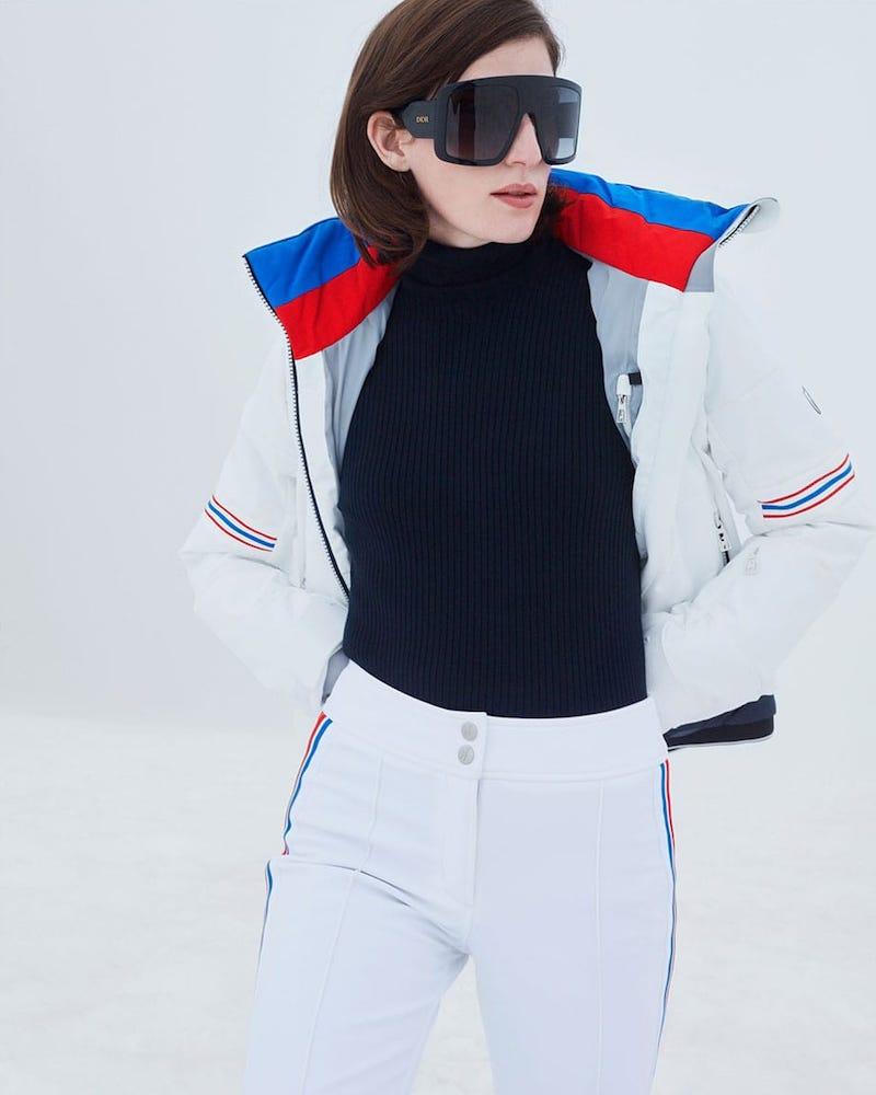 Toni Sailer Antonia Striped Soft-Shell Ski Jacket