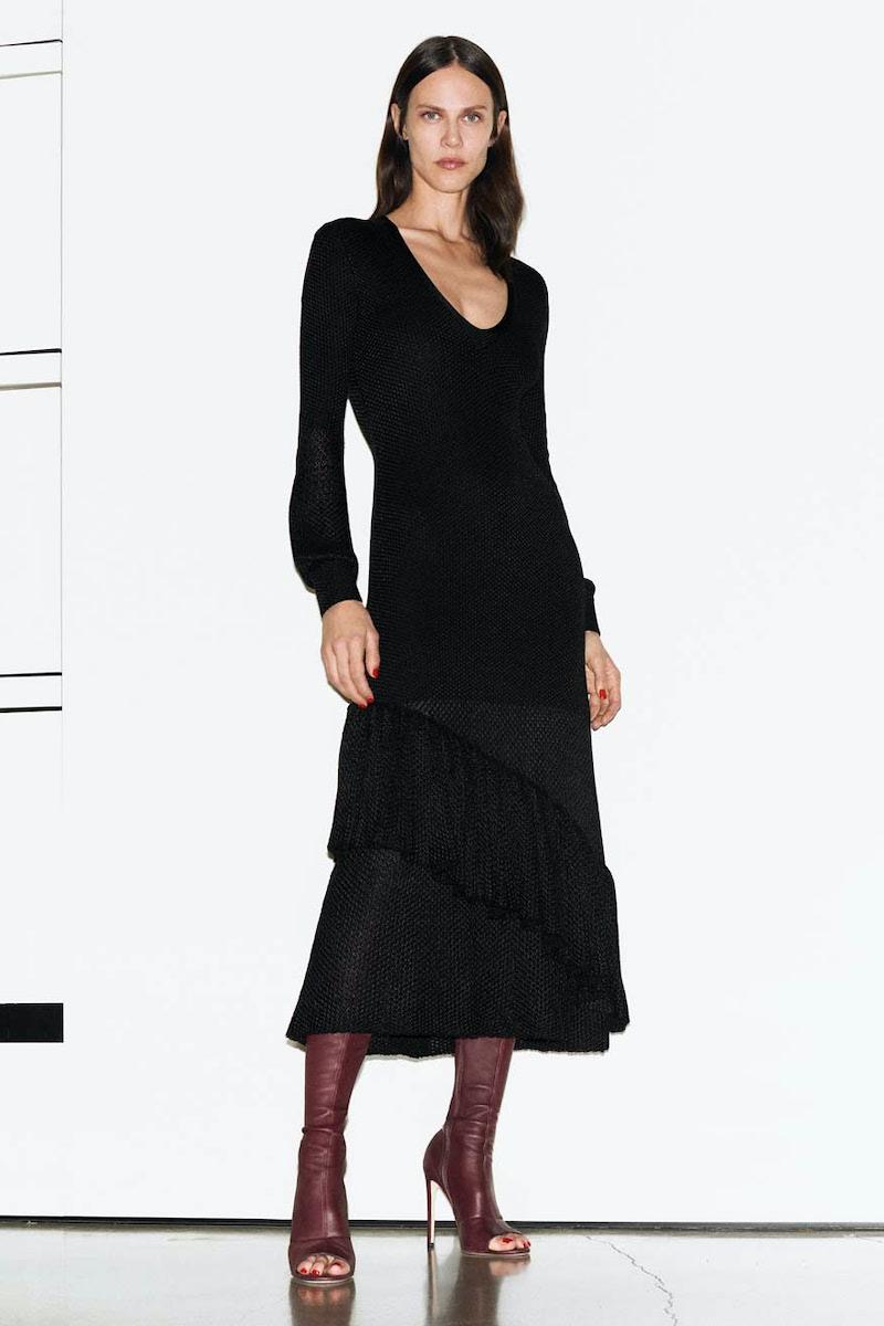 Matériel Tbilisi Faux Leather Dress