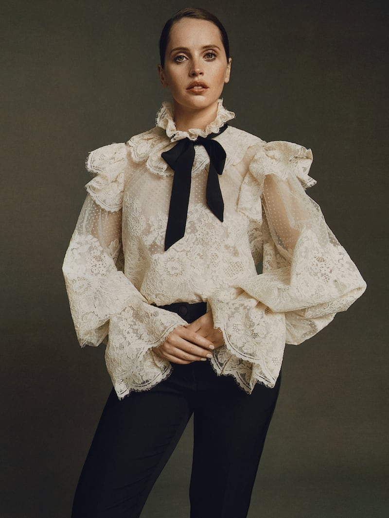 Zimmermann Espionage Corded Lace and Point D esprit Tulle Blouse