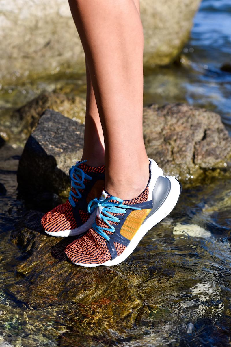 adidas by Stella McCartney Ultraboost Lace-Up Knit Running Sneakers