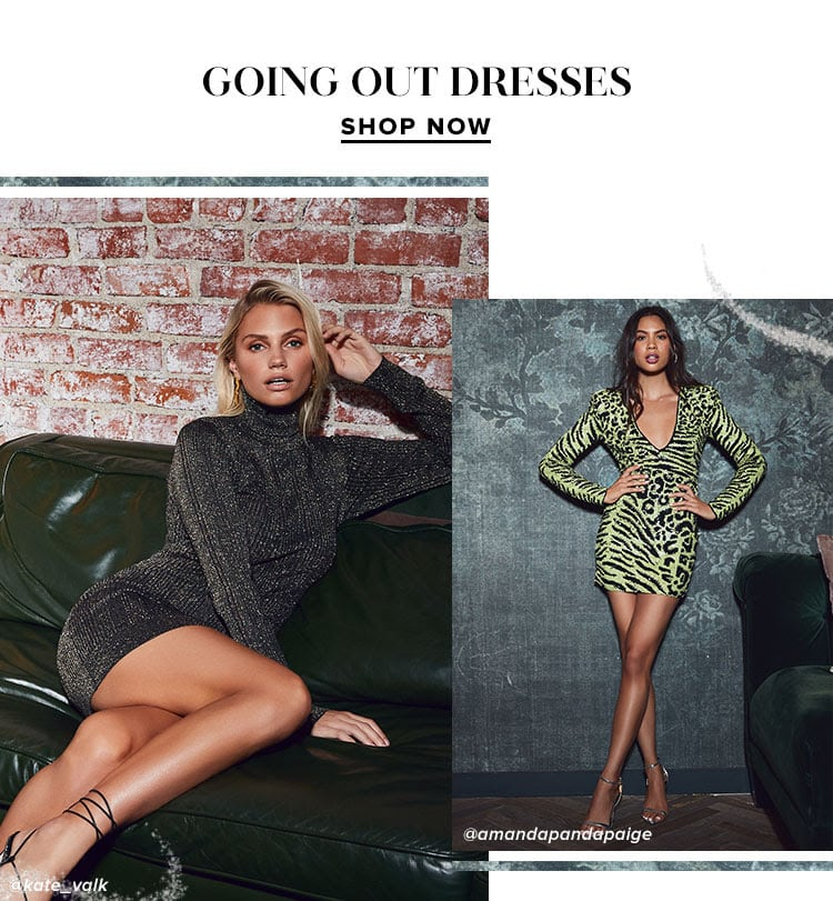 Going Out Dresses. Shop Now.