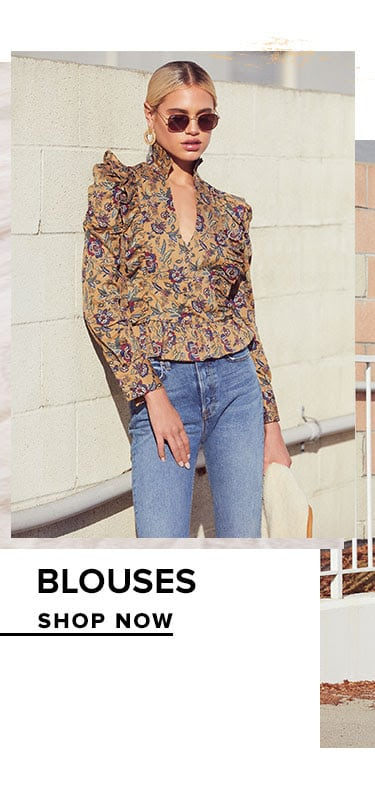Blouses. Shop Now.