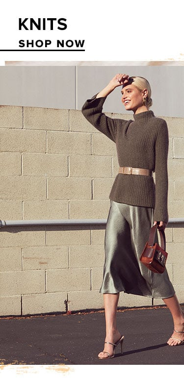 Knits. Shop Now.