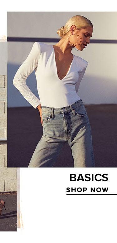 Basics. Shop Now.