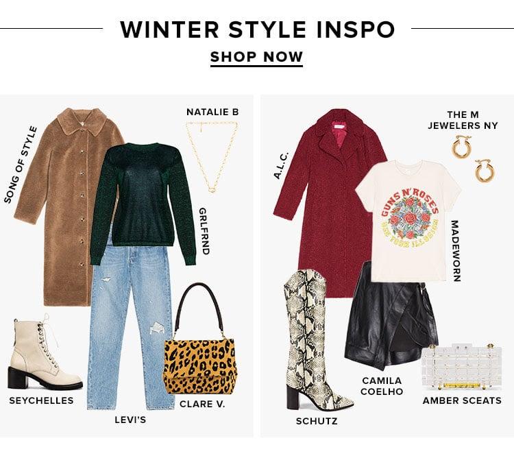 Winter Style Inspo. SHOP NOW