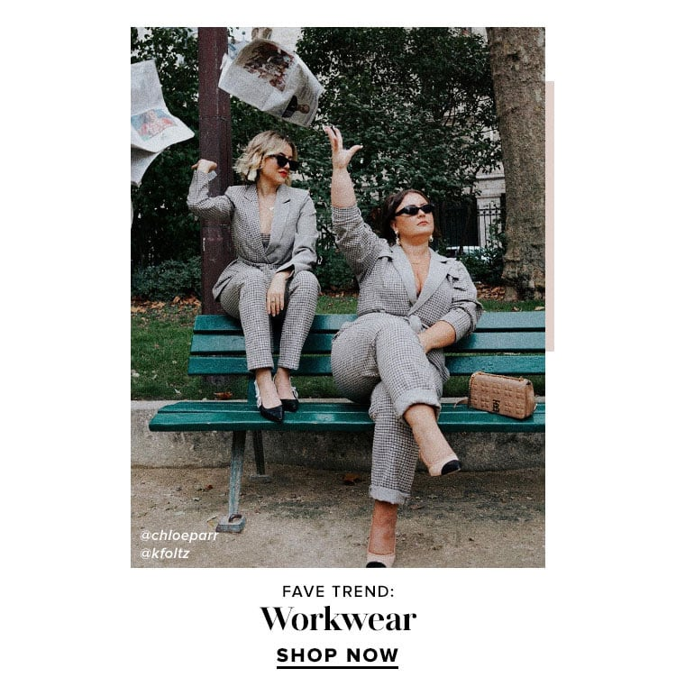 Fave Trend: Workwear. SHOP NOW