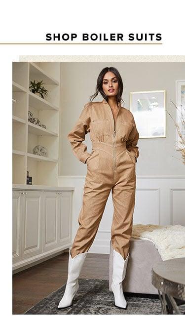 Shop boiler suits.