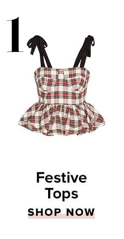 1. Festive Tops. Shop now.