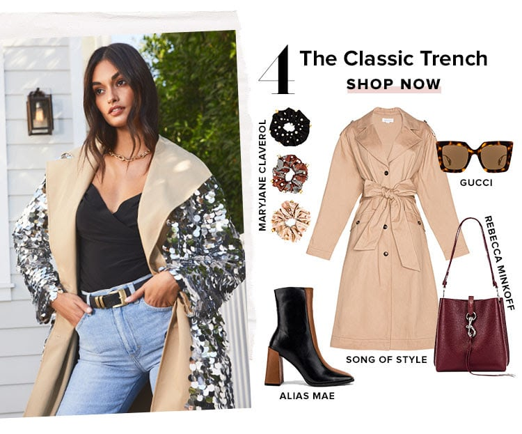 4. The Classic Trench. Shop now.