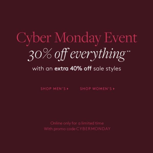Club Monaco Cyber Monday Sale 2019