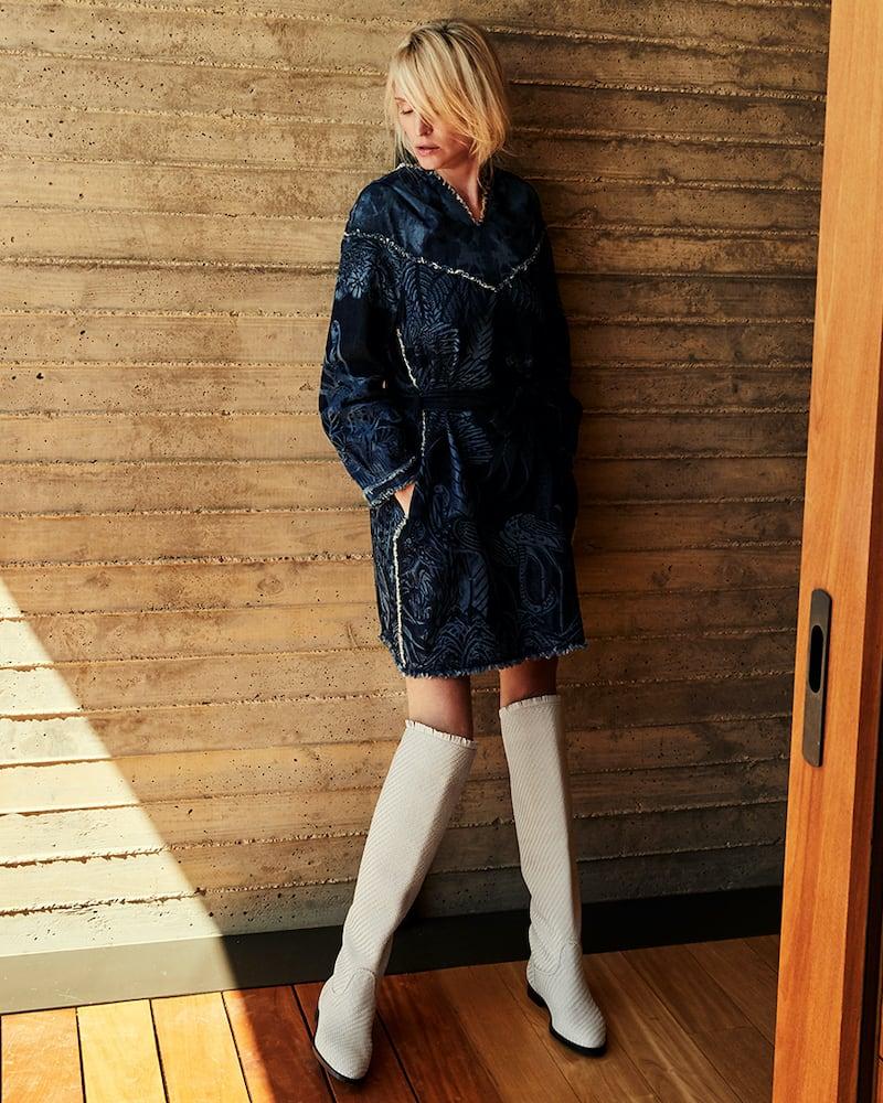 Dior Global Braided Lambskin High Boot