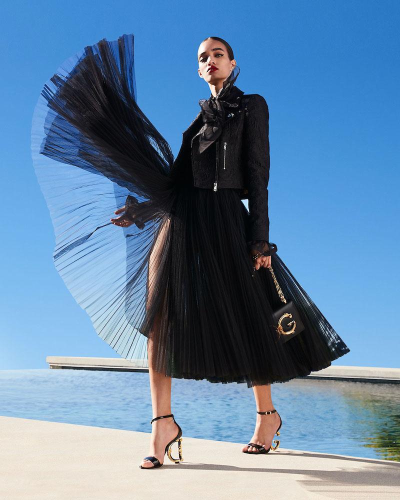 Dolce & Gabbana Lace Moto Jacket