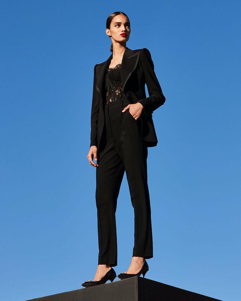 Dolce & Gabbana Wool Single-Breasted Jacket