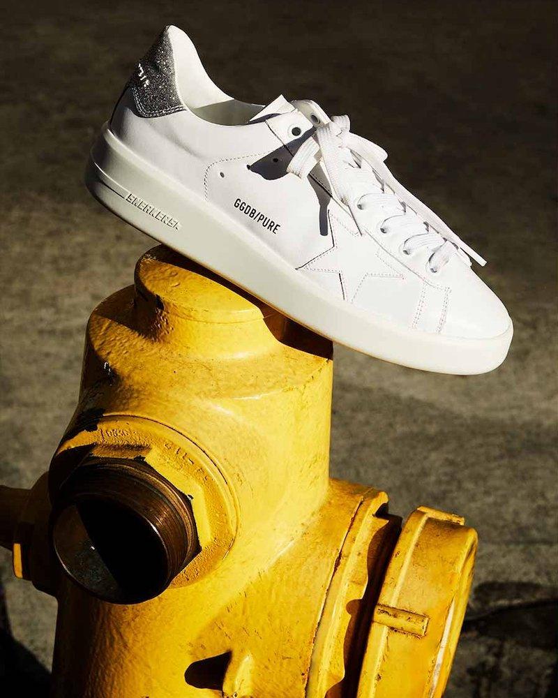 Golden Goose Pure Low-Top Sneakers