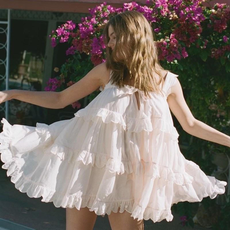 Innika Choo Scallop Iva Dress