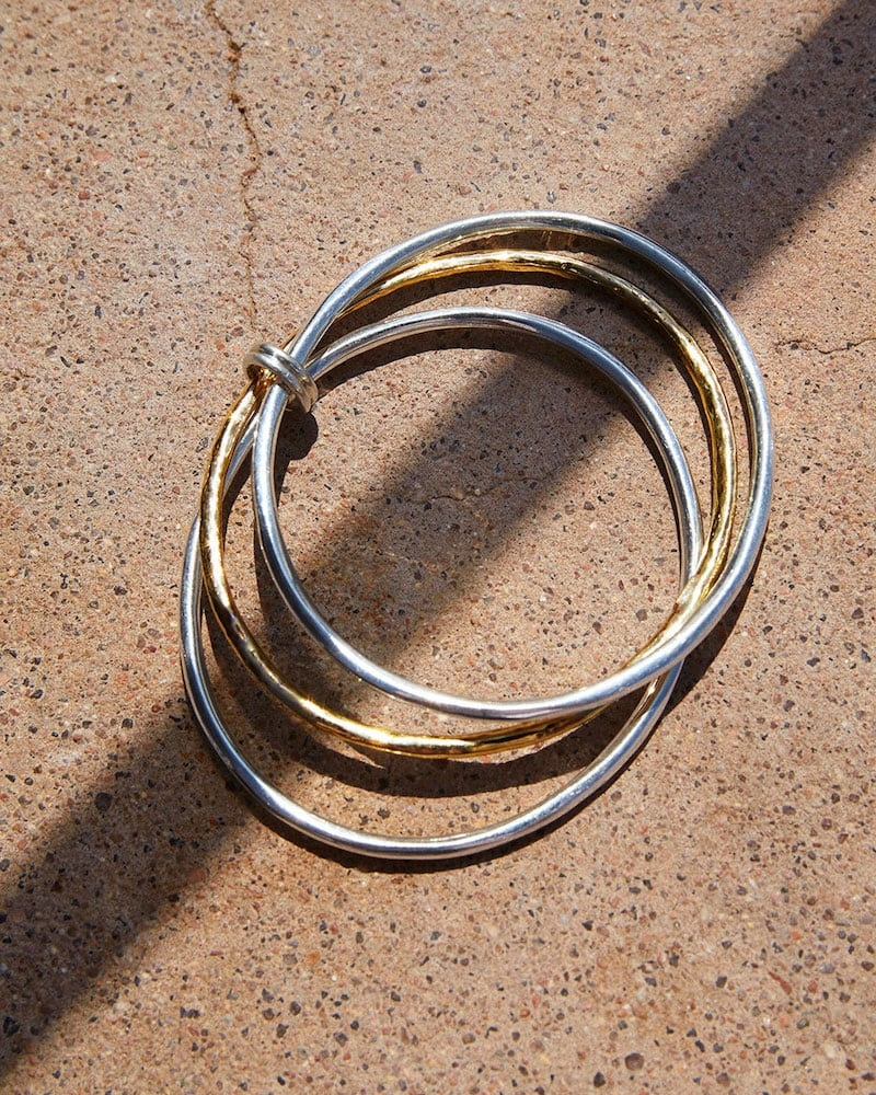 Ippolita Chimera Two-Tone Bangles, Set of 3
