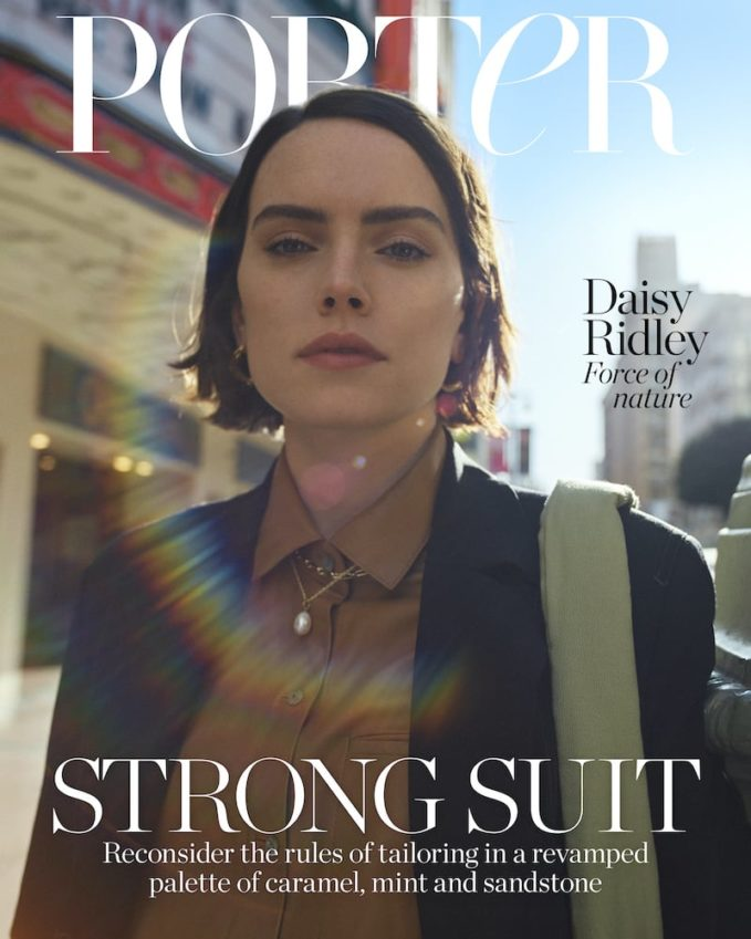 Last Woman Standing: Daisy Ridley for The EDIT