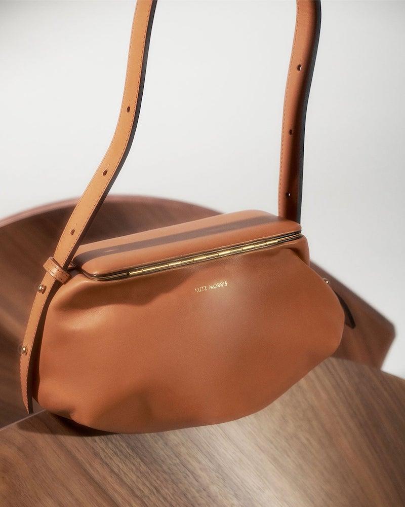 Lutz Morris Bates Frame-Top Cross-Body Pouch Bag