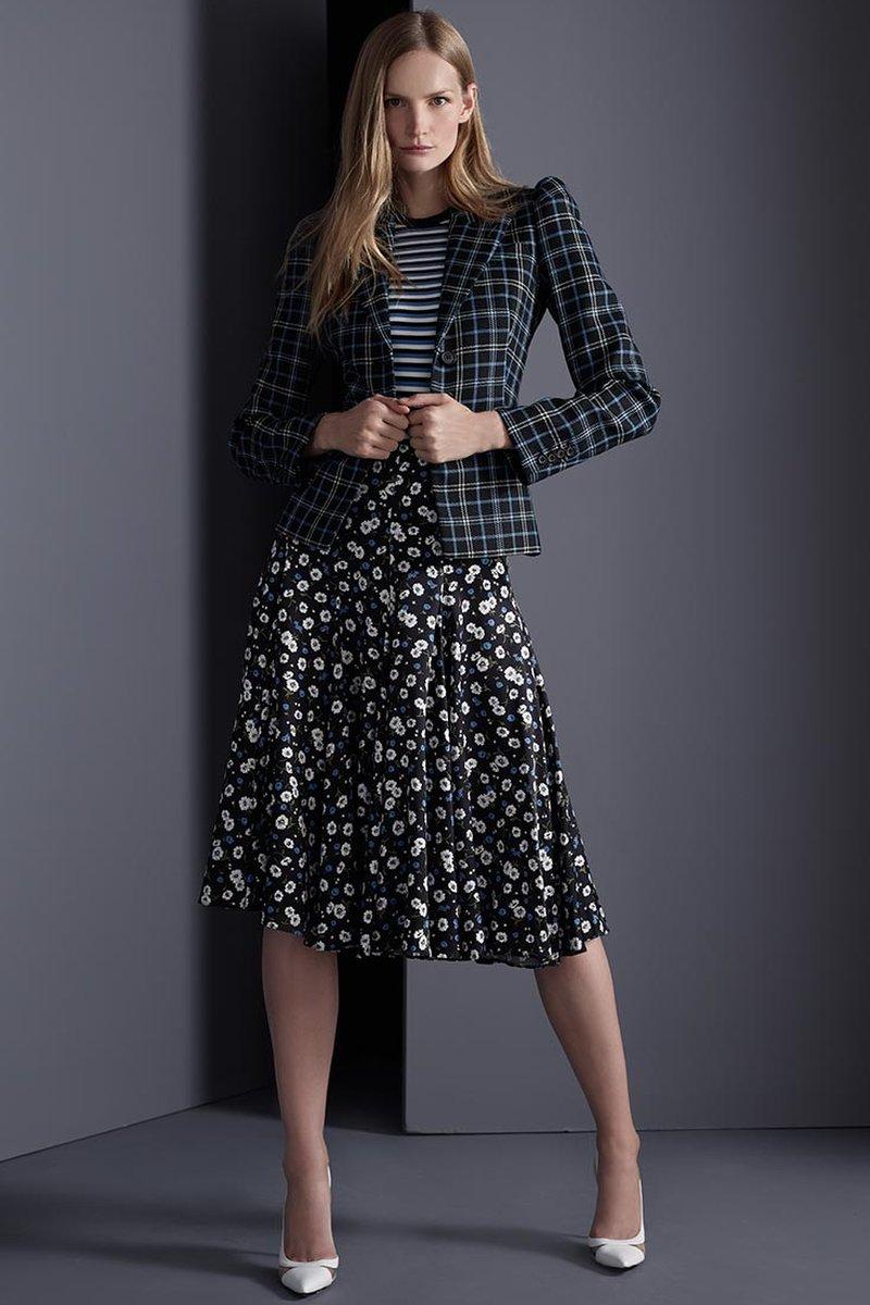 Michael Kors Collection Silk Dance Skirt