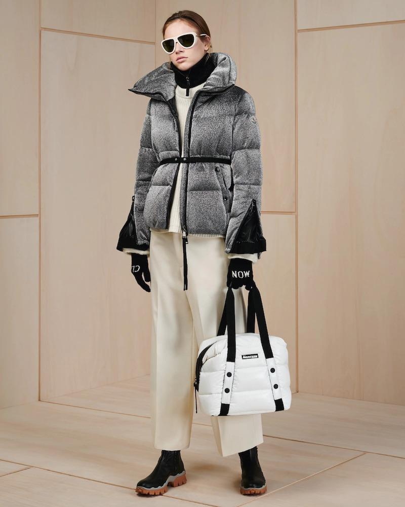 Moncler Bandama Zip-Sleeve Puffer Jacket