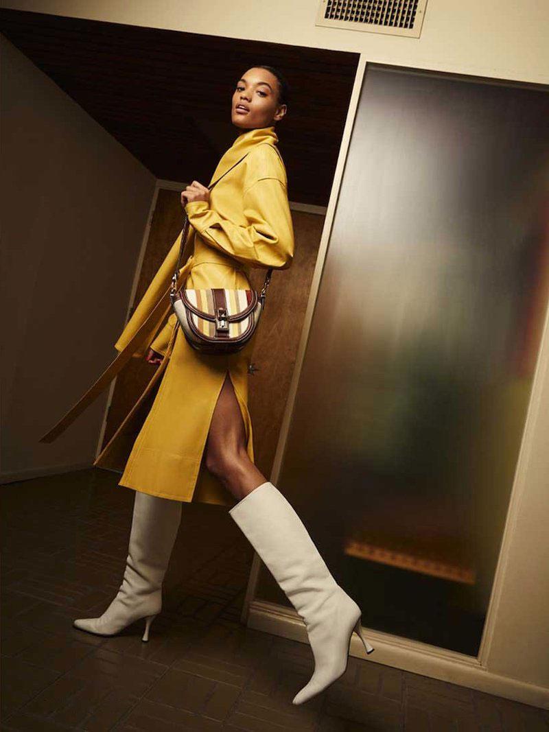 Proenza Schouler PS11 Small Saddle Patchwork Shoulder Bag
