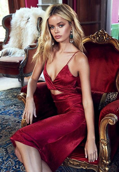 Song of Style Kat Midi Dress