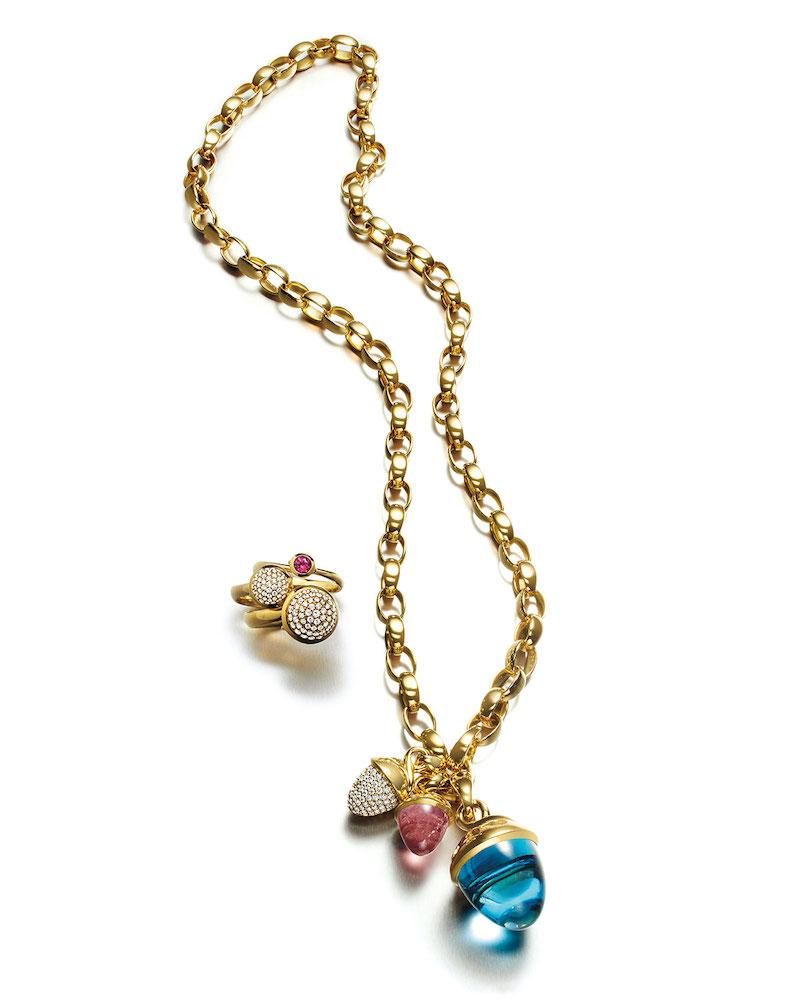Tamara Comolli 18k Chain-Link Necklace