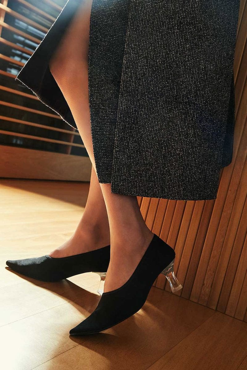 The ROW Pointed Sock Pumps