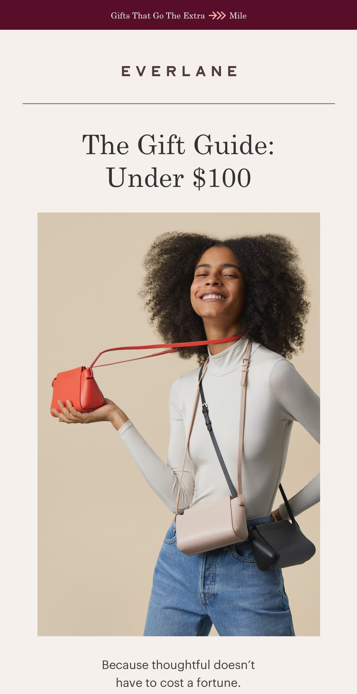 Everlane Thoughtful Gifts Under $100