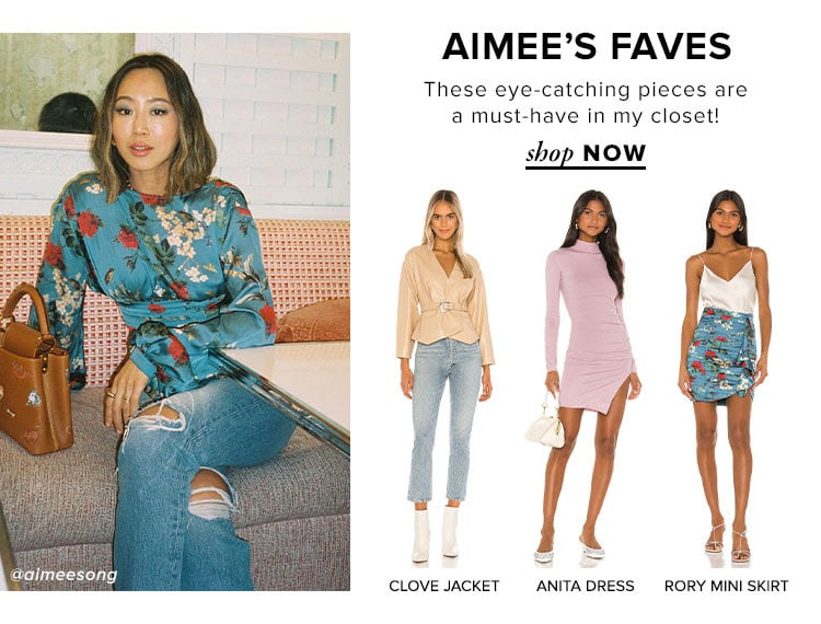 Aimee's Faves. These eye-catching pieces are a must-have in my closet! SHOP NOW