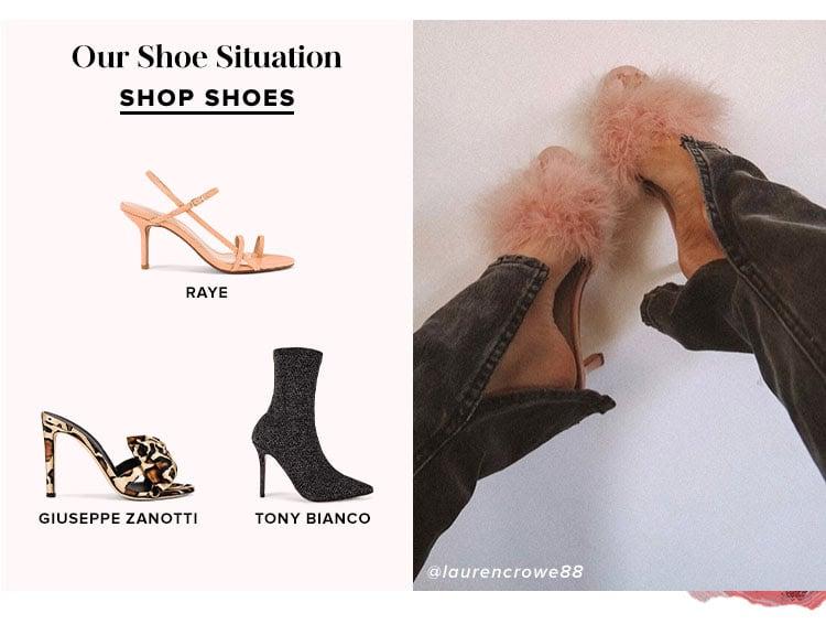 Our Shoe Situation - Shop Shoes