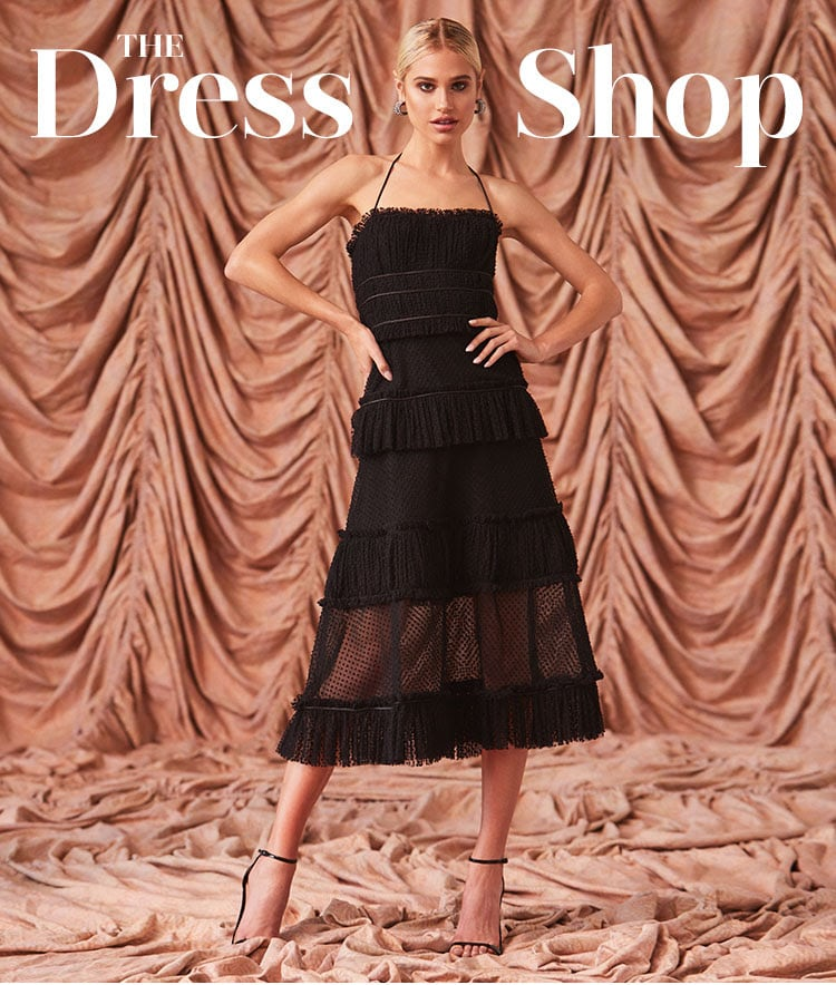 REVOLVE Holiday 2019 The Dress Shop