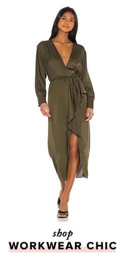 Shop workwear chic,