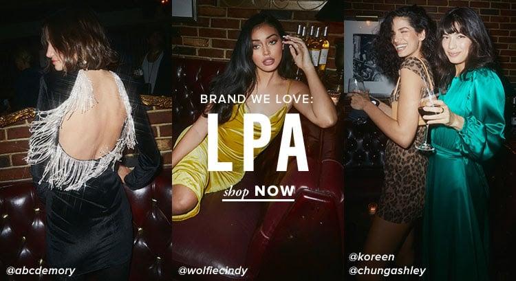 Brand We Love: LPA. Shop Now.