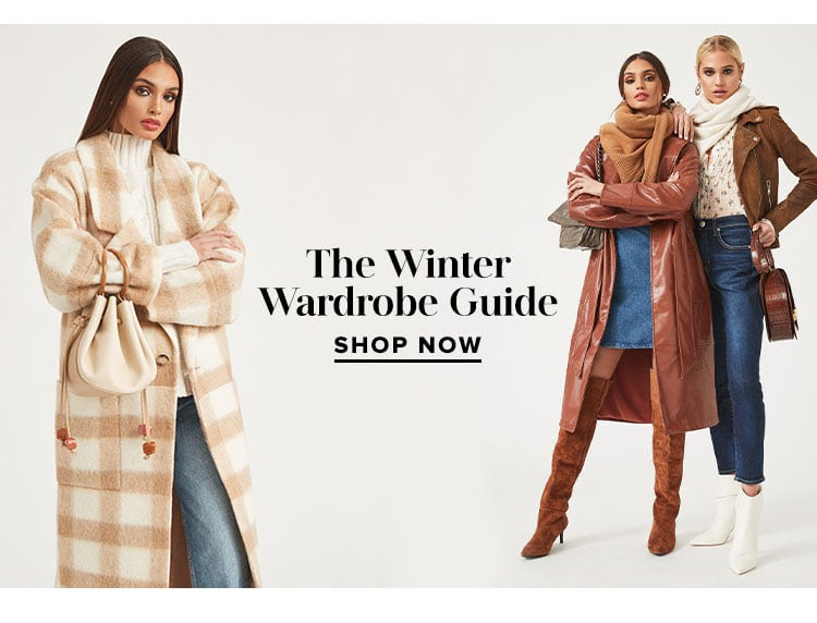 The Winter Wardrobe Guide - Shop Now