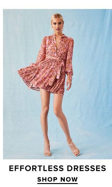 Effortless Dresses. SHOP NOW